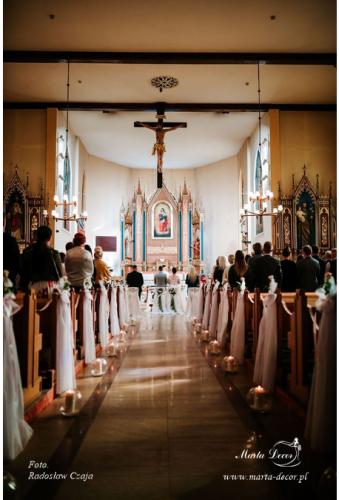 ślubna dekoracja