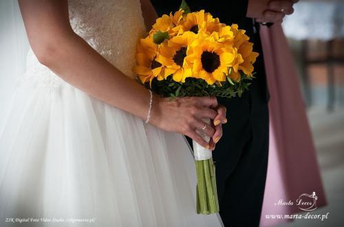 Bukiet ślubny 1